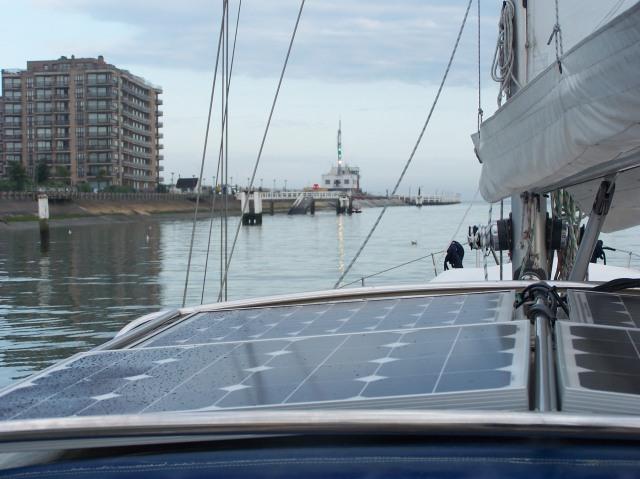 Stille uitvaart uit Nieuwpoort