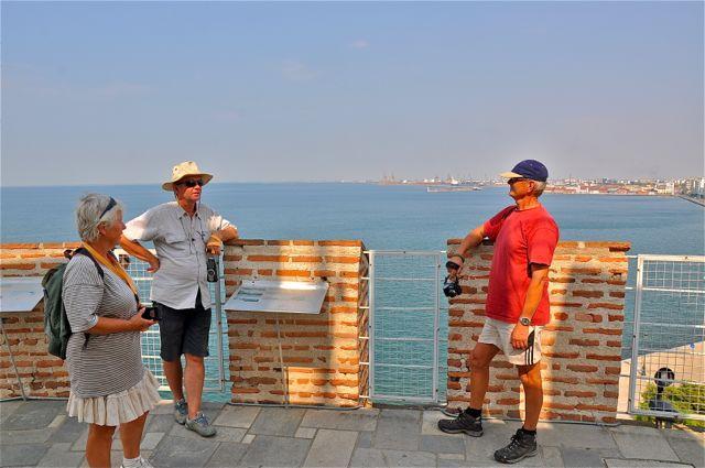 Poseren op de Witte toren