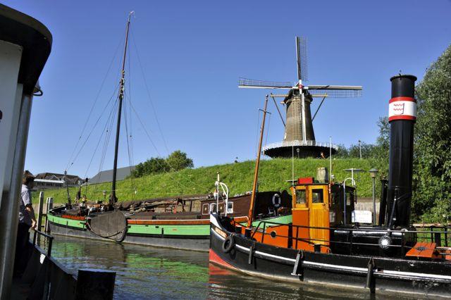 Kan het hollandser? Dit is in Gorinchem.