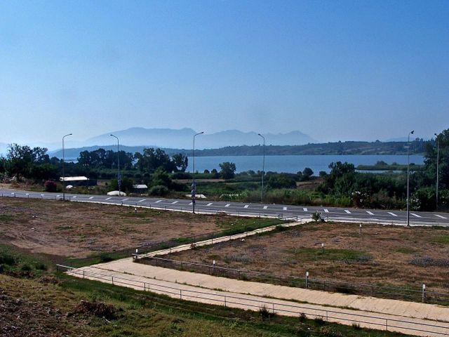Uitzicht op de Amvrakikos Kolpos