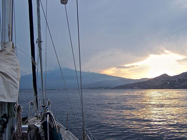 Taormina komt in zicht