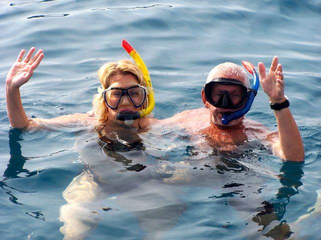 Wij gaan samen snorkelen