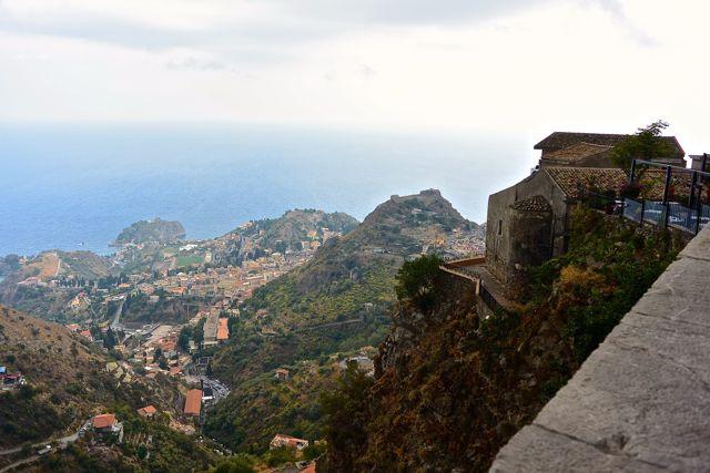 Taormina in de diepte