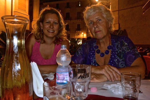 """Op het terras van """"La Collegiata"""""""