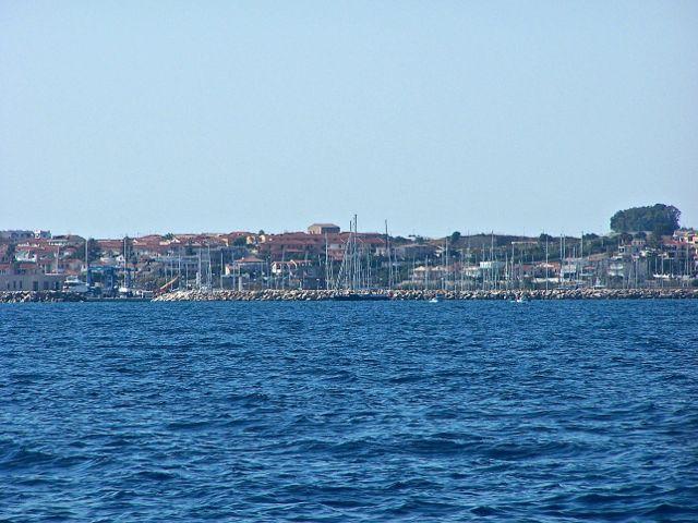 De haven van Marina di Ragusa