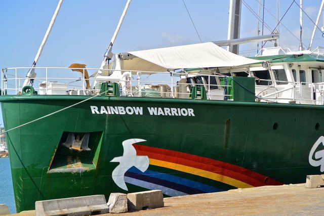 """""""Rainbow Warrior"""", tissum"""