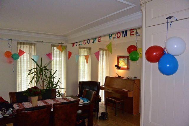 .... en slingers en ballonnen! Voelt goed