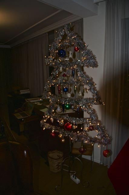 Onze kerstboom, lekker makkelijk