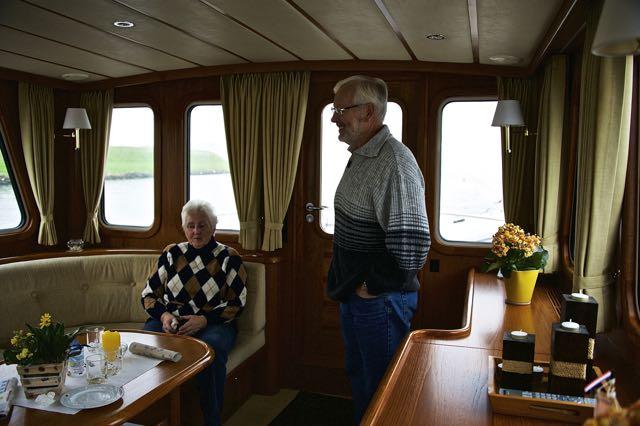 Zwager Willem en zus Joke