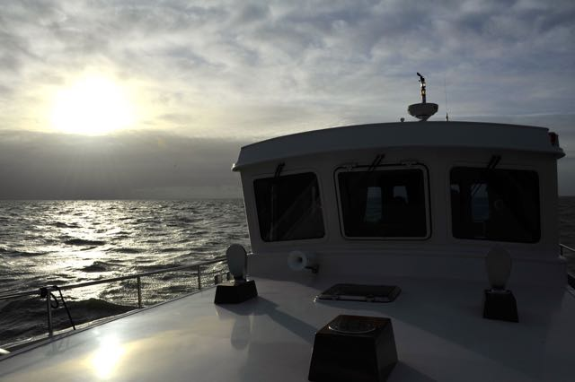 Zonsopgang op het IJsselmeer