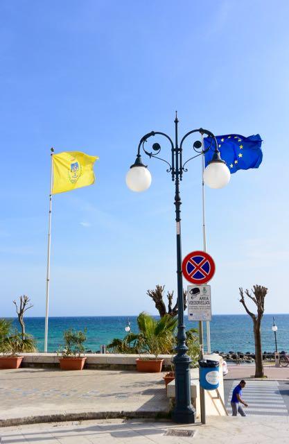 Vlaggen strak in de wind