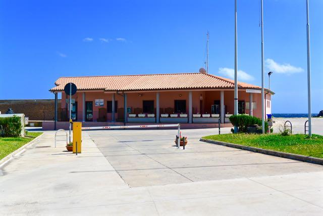 Het havengebouw