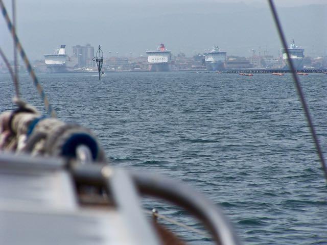 Ferry's in het verschiet