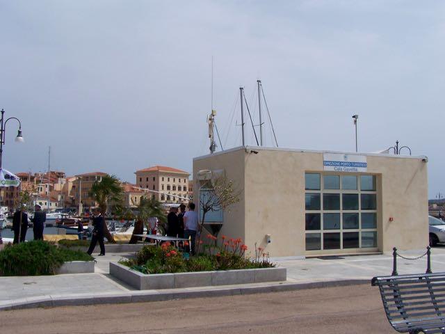 Het havenkantoor