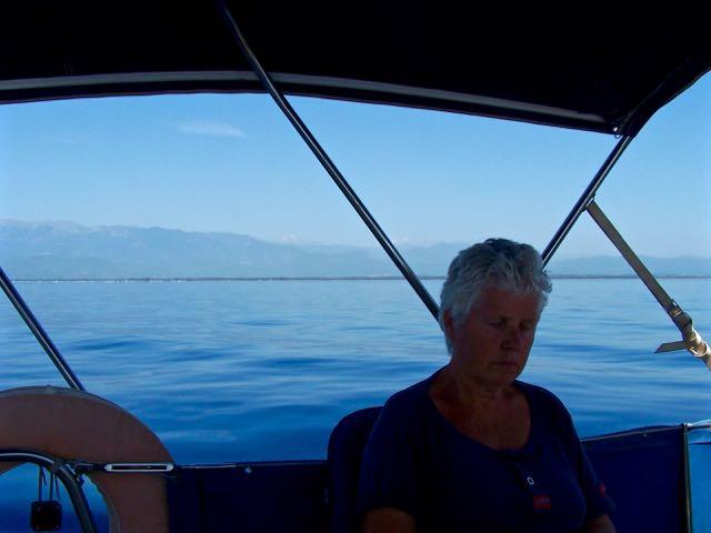 De zee ik blak en Ingeborg ook