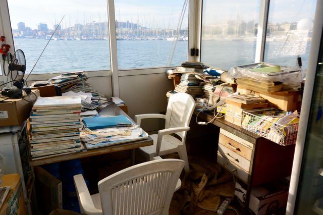 Wel gezellig dit kantoor