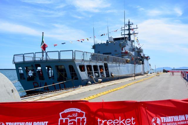 De navy was er ook