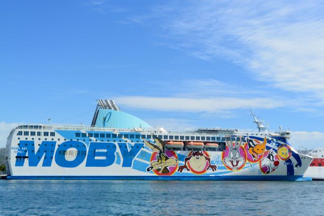 Een vrolijk noot op deze boot