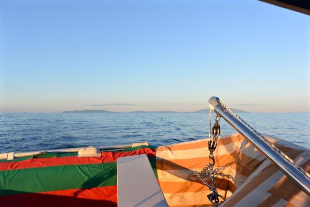 Elba wordt langzaam steeds kleiner