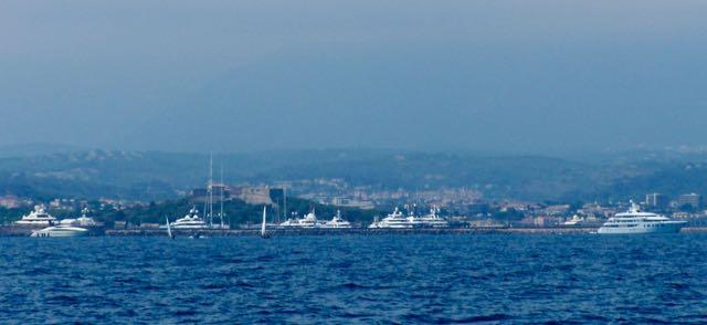 Port Vauban bij Antibes