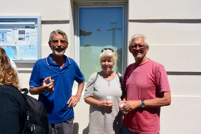 Michael, Ingeborg und Willem