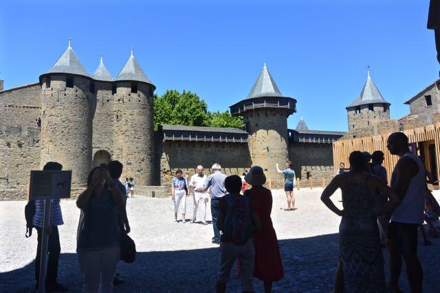 Het kasteel in de vesting