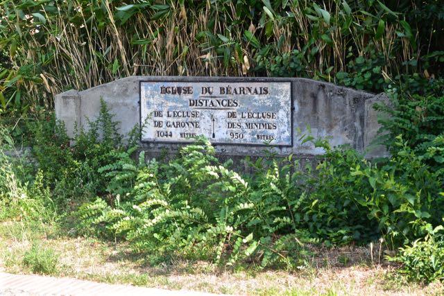 De laatste sluis van het Canal du Midi