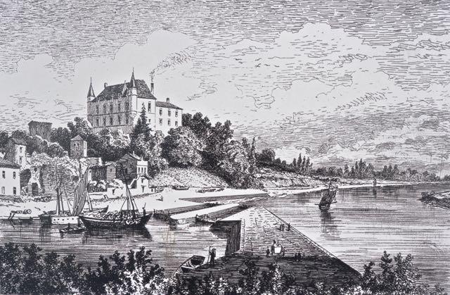 Foto van het kasteel