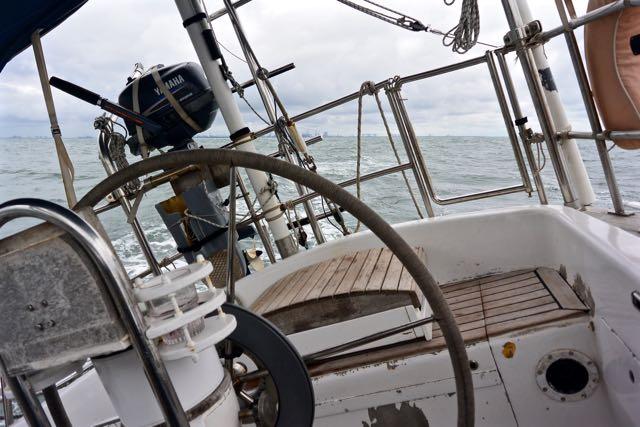 De boot stuurt zichzelf