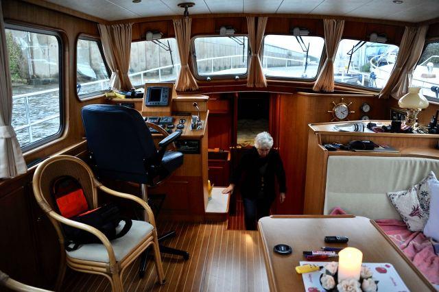 Beetje redderen in de boot