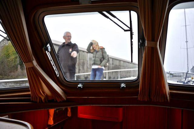 Rondgang over het schip
