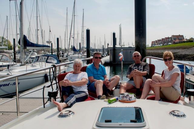 DSC_0087.jpg Ingeborg, Cees, Willem en Anneke in Wemeldinge op de Namasté